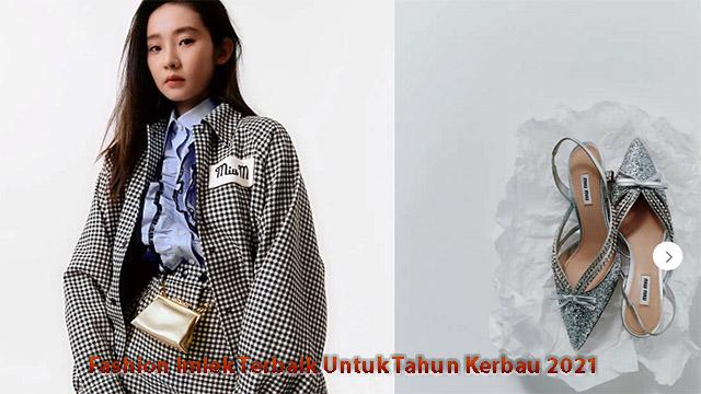 Fashion Imlek Terbaik Untuk Tahun Kerbau 2021